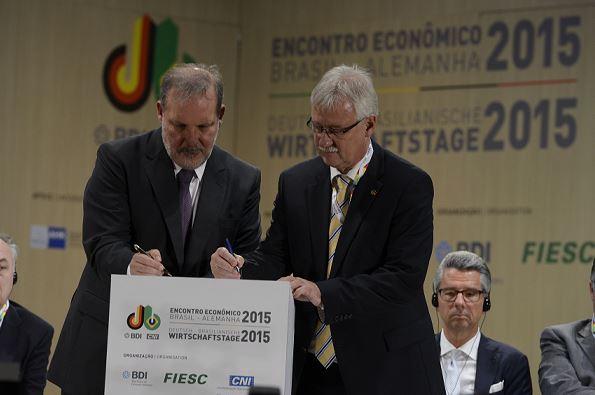 Brasil e Alemanha assinam acordo de cooperação em inovação