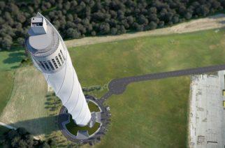 thyssenkrupp lança torre de testes na Alemanha
