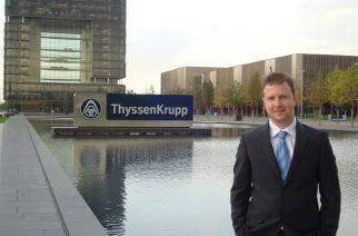 thyssenkrupp investe no futuro dos elevadores