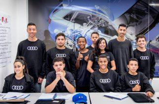 Audi do Brasil oferece capacitação profissional para jovens carentes