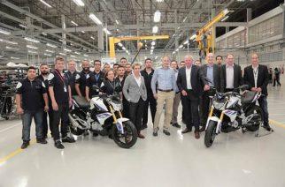 BMW produz motos em nova fábrica de Manaus