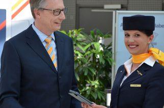 Lufthansa fornece iPads para a tripulação