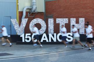 Voith promove atividade esportiva