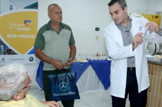 Mercedes-Benz patrocina programa de atendimento médico