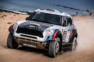 MINI da BMW encara Rally de 14 dias