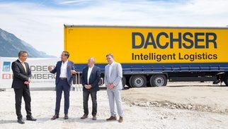 Novo centro logístico da DACHSER na Áustria