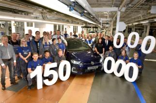 Volkswagen comemora a produção de 150 milhões de veículos
