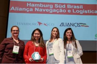 Aliança e Hamburg Süd recebem o Prêmio DowGol