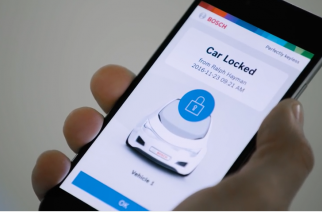 Bosch cria chave digital