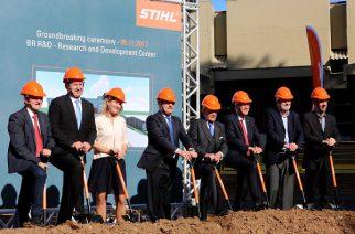 STIHL inicia obra do seu novo centro de P&D