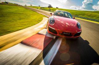 Cursos de condução da Porsche são ministrados no Brasil