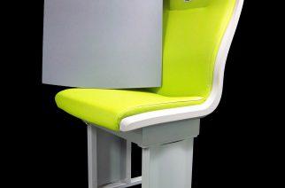 Espuma de melamina BASF melhora os assentos de transportes públicos