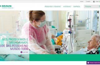 B. Braun lança novo website no Brasil
