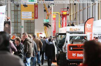 bautec 2018 - Blick in Halle 20 - bautec 2018 - View into hall 20 -