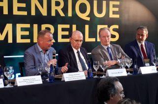 Eurocâmaras e Club Transatlântico realizam evento com Henrique Meirelles