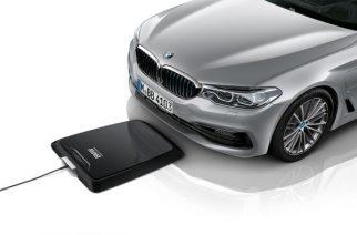 BMW i lança carregador sem fio para carros híbridos