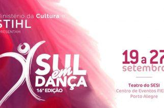 STIHL patrocina o 16° Sul em Dança
