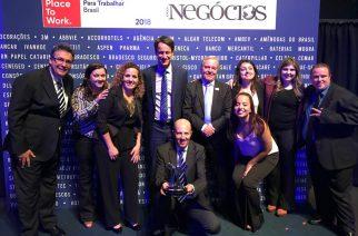 Schmersal conquista 2º lugar entre as melhores empresas para trabalhar no Brasil