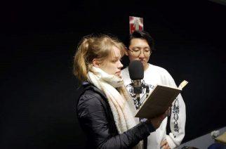 Alunos do Colégio Humboldt gravam audiolivro para Biblioteca Braile do CCSP
