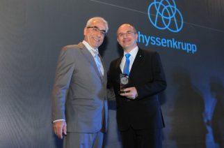 thyssenkrupp recebe o Prêmio Top Engenharias 2018