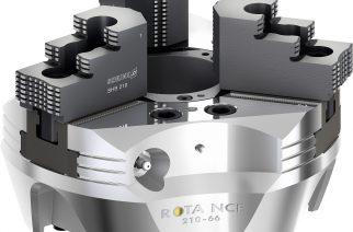 SCHUNK ROTA NCE permite alta produtividade com consumo mínimo de energia