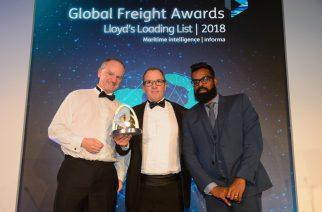 Hamburg Süd recebe o prêmio Global Freight 2018 na categoria Meio Ambiente