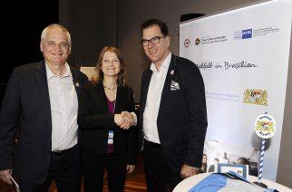 Visita do Ministro para Cooperação Econômica e Desenvolvimento da Alemanha em São Paulo