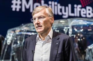 Foto: Divulgação / Wolf-Henning Scheider, CEO da ZF Friedrichshafen AG.