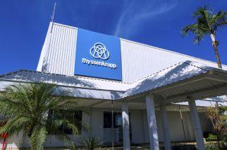 Desempenho positivo do Brasil contribui para os resultados da thyssenkrupp