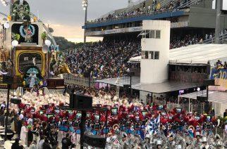 Carnaval 4.0: Parceria com empresas alemãs levou tecnologia para o desfile da Rosas de Ouro