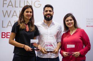 Foto: Vencedores Falling Walls Brazil 2019, etapa Belo Hozinte / Divulgação DWIH.