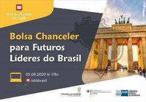 Bolsa Chanceler Alemã para Futuros Líderes do Brasil