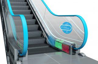 Foto: Corrimão para escada rolante / Divulgação /thyssenkrupp Elevadores.