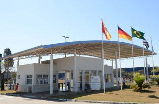 Foto: Fachada da planta industrial da ZF em Sorocaba, SP / Divulgação.