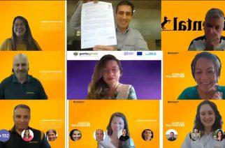 Foto: Evento oficial de assinatura dos WEPs  / Divulgação Continetal.
