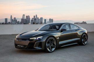 Foto: Audi e-tron GT concept / Divulgação.