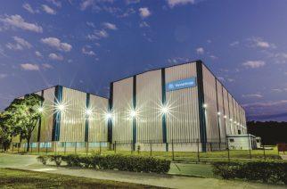 Foto: Centro de serviços de mineração da thyssenkrupp em Santa Luzia (MG) / Divulgação.
